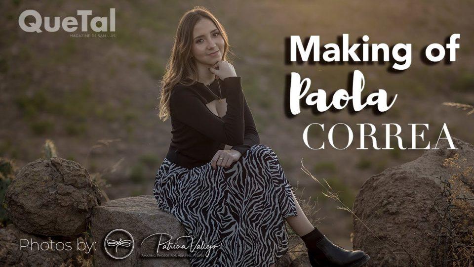 MAKING OF PAOLA CORREA
