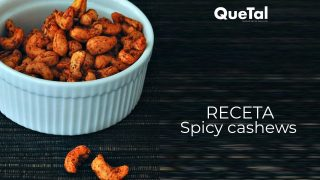 TU SNACK FAVORITO: SPICY CASHEWS