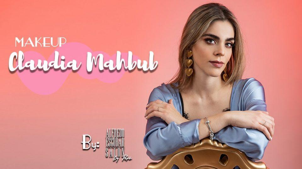 MAKEUP de CLAUDIA MAHBUB por ALFREDO ESCOBAR