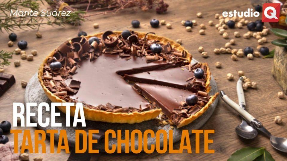 RECETA DE TARTA DE CHOCOLATE por MARITE SUÁREZ