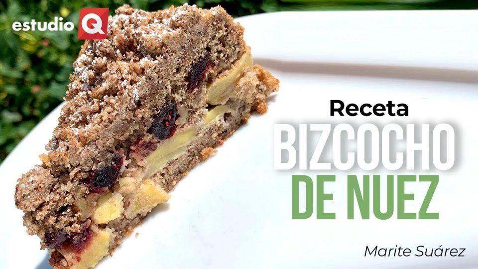 RECETA DE BIZCOCHO DE NUEZ por MARITE SUÁREZ