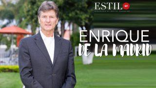 ESTILO QT presenta: ENRIQUE DE LA MADRID