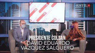 ESTILO QT presenta:  DAVID VÁZQUEZ PRESIDENTE DEL COLSAN