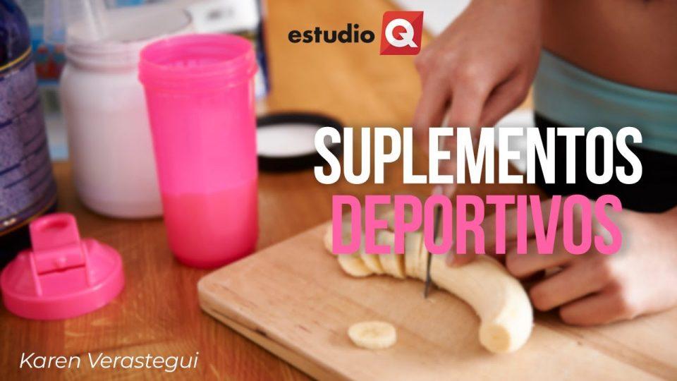 SUPLEMENTOS DEPORTIVOS con KAREN VERASTEGUI
