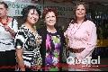 Marcelina Oviedo, Adela Martínez y Silvia Esparza.