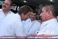 La llegada del Gobernador Fernando Toranzo.