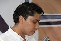 Alejandro Díaz ofreciendo unas palabras.