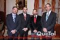 Alejandro Rivera, Jorge Barrera, Alejandro de la Fuente y Darío Güemes.