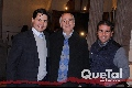 Carlos García Siller, Jorge Domínguez y Héctor Andrade.