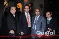Héctor Galán, Xavier Castro de la Maza, José Mario de la Garza y Ángel Candia.