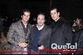 Juan Carlos Valladares, Enrique Flores y Alejandro Valladares.