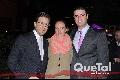 Jorge Luna, Ángeles Mahbub y Santiago Labastida.