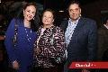 Lorena Guerra, Arcelia Malacara y Arturo Sandoval.