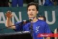 Rodrigo Manzo Monsech hizo el juramento deportivo a nombre de todos los tenistas participantes.