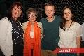 Ely de Castro, Rosa Elena Castro, Enrique Castro y Alejandra Sánchez.