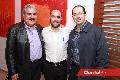 Rafael  Armendáriz, Armando Zacarías y Enrique Abud.