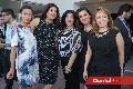Cristina Roaro, Paty Montoya, Anis Aguilera, Lorena Ahumada y Yolanda Gocher.