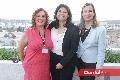 María del Carmen Diep, Norma Moreno de Maza y Daniela Navarro.