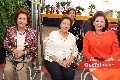 Elisa de Carreras, María Elvia Ortiz y Laura Solís de Cervantes.