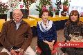Arturo Meade, Lety Nieto y Ana Rosa Lara.
