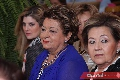 Silvia Foyo, Carmenchu Vilet de Torres y Lula Hernández.