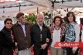 Martha Elena Espinosa, Arturo Meade, Manuel Carreras, Elisa de Carreras y Lorena Valle de Carreras.