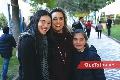 María José García, Sandra Valle y Andrea Almaguer.