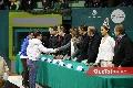 Los atletas Mau y Juanito recibieron felicitaciones por las medallas obtenidas en las Olimpiadas Especiales.
