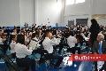 El Evento fue amenizado por una gran orquesta.