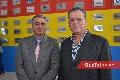 Raúl Martínez y Fernando Chávez.