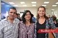 Eduardo Gómez, Cyntia Sánchez y María Eugenia Jiménez.