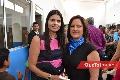 Liz Alcalde y Liliana Meade.