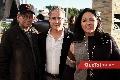 Roberto Espinosa, Jorge y Claudia Aldrett.