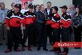 El Gobernador del estado Juan Manuel Carreras entrega reconocimiento a gasolineros.