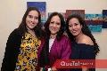 Nuria Nava, Esther Sandoval y Montse Nava.