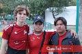 Andrés, Mauricio y Grillo.