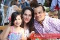 Emma, Lorena Ortiz y Miguel Fernández.
