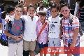 Cali, Daniel, Mau, Juan Carlos y Emilio.