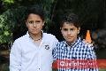 Los gemelos Andrés y Mauricio Robles.