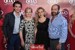 Jaime Ruiz, Mónica Labastida, Mónica y Óscar Torres.