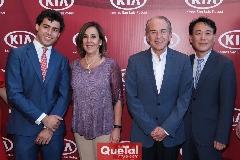 Gabriel Torres López, Lorena Valle, Juan Manuel Careras y Tae Jin Park.