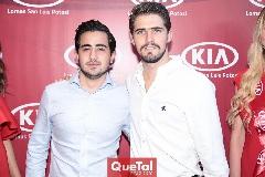 Rodrigo Carreras y Gerardo Gómez.