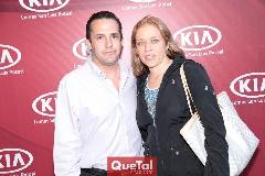 José Ramón Torre y Mariana Torres de Torre.