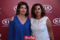 Marisa Mercado y Graciela Torres.