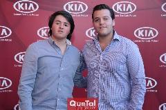 Jorge Aldrett y José Francisco Alonso.
