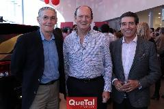 Eduardo Rueda, Manuel Del Valle y Ángel De Luna.