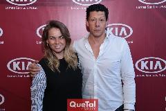 Montse Torres y Gabriel Zárate.