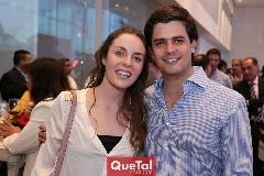 Tere Ledezma y Luis Torres.