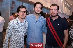 Guillermo Gómez, Eduardo Torre y Miguel Gómez.