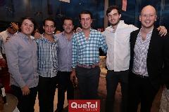 Jorge Aldrett, José María González, Francisco Alonso, Alfonso Anaya, Oscar Hernández y Manuel Del Valle.
